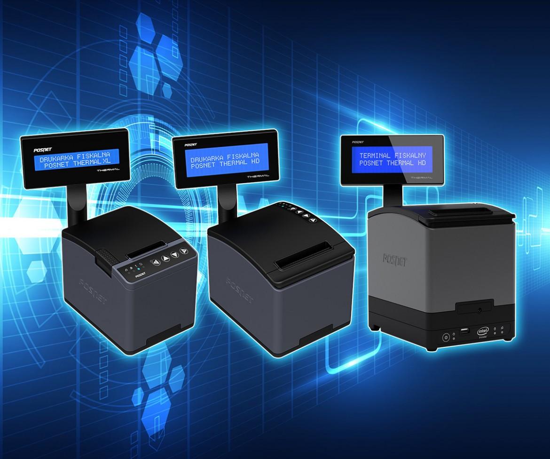 Rodzina urządzeń fiskalnych Posnet Thermal