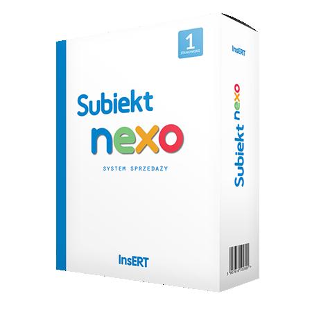 Program sprzedażowy Insert Subiekt nexo